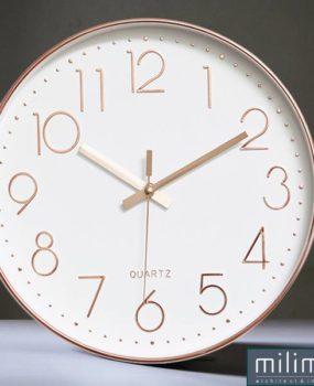 Đồng hồ tròn vàng