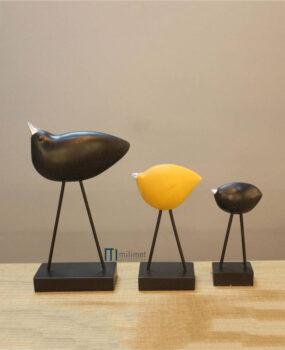 Bộ 3 chim vàng mỏ sắt