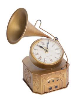Đồng hồ loa vàng
