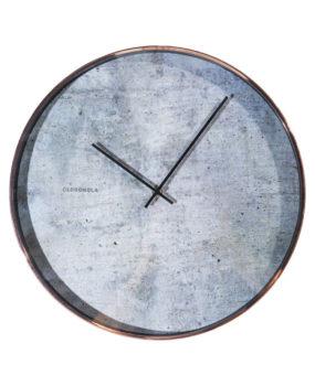 Đồng hồ viền hồng mặt đen trắng