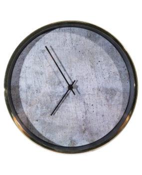 Đồng hồ viền vàng mặt đen  kim đen