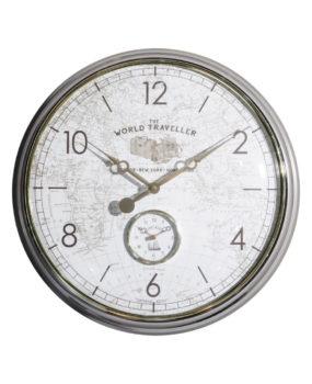 Đồng hồ bản đồ kính lồi 6 số thường