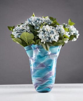 Lọ hoa vân đá xanh xám (18*31*37)