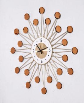 Đồng hồ chấm vàng 70cm