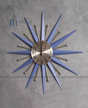 Đồng hồ sắt xanh đậm 78cm