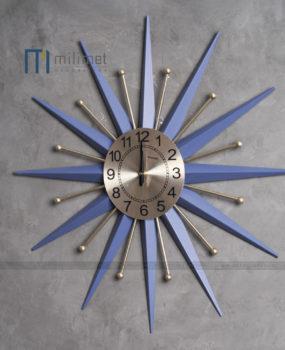 Đồng hồ sắt xanh đậm 58cm