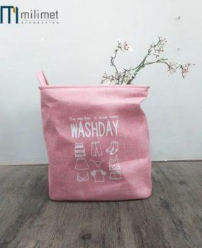 Sọt màu hồng Washday (40x40cm)
