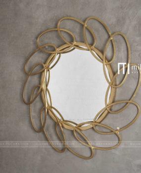 Gương ovan xoay tròn