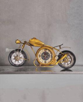 Đồng hồ xe đạp màu vàng