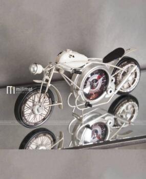 Đồng hồ xe đạp màu trắng