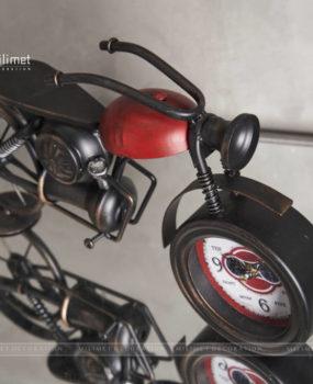 Đồng hồ xe đạp yên đỏ