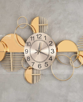 Đồng hồ gương tròn